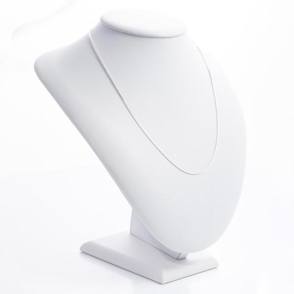 Łańcuszek srebrny - kostka 44 cm