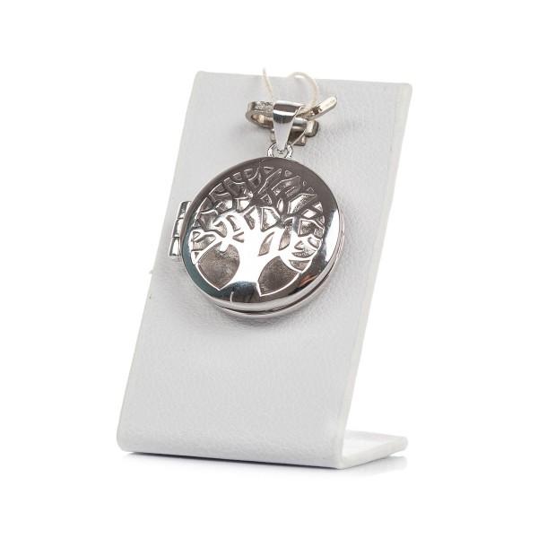 Zawieszka srebrna sekretnik - drzewko