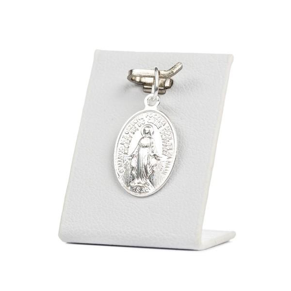 Medalik srebrny - Maryja