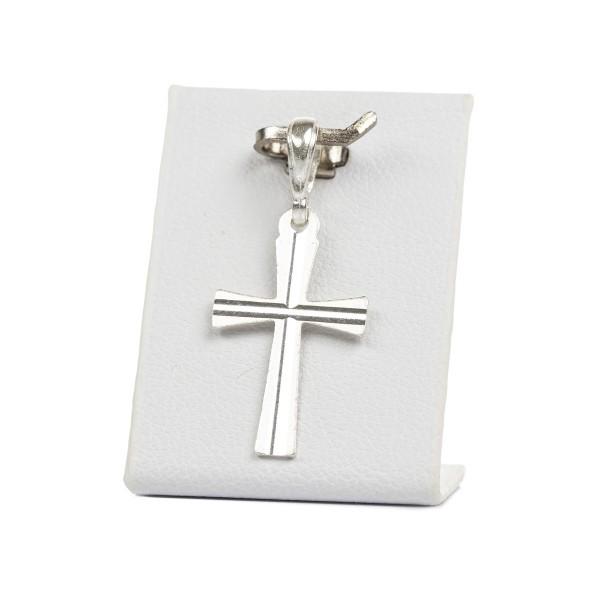 Krzyżyk srebrny, klasyczny