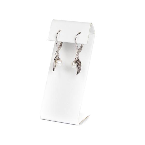 Kolczyki srebrne - wiszące skrzydełka...