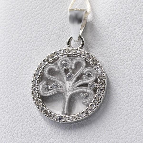 Zawieszka srebrna - drzewko