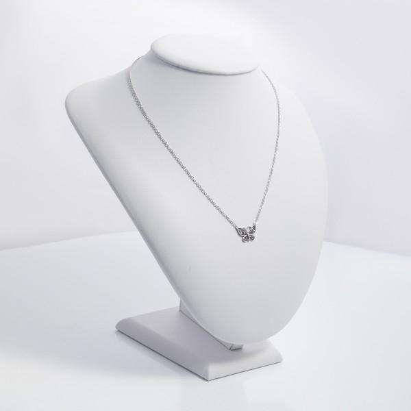 Naszyjnik srebrny - motylek